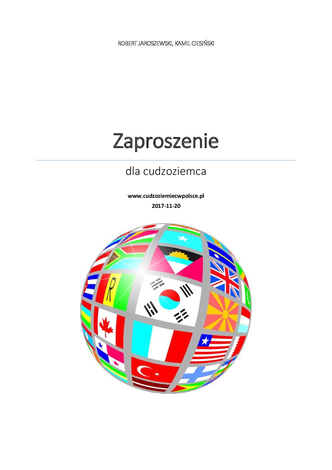 Zaproszenie Dla Cudzoziemca Nowy Wzór Cudzoziemiec W Polsce